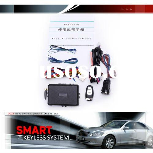 TOYOTA push button start engine car alarm security system