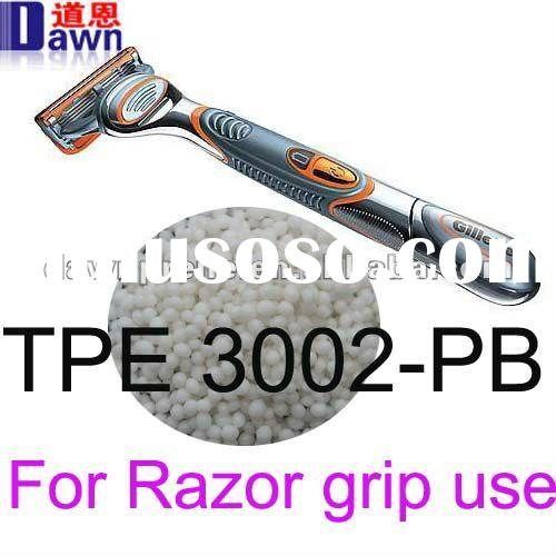 TPE resin for razor grip,TPE material sebs 3002-PB