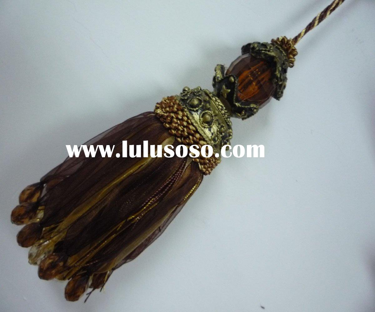 Tassel, ,Beaded Tassel, Curtain Tassel, Curtain Accessories.trimming series