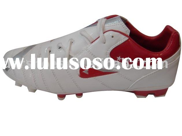 The newest style men PU leather football Shoes sport shoes fashion shoes