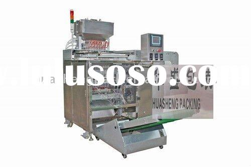 Tomato paste filling and sealing packaging machine