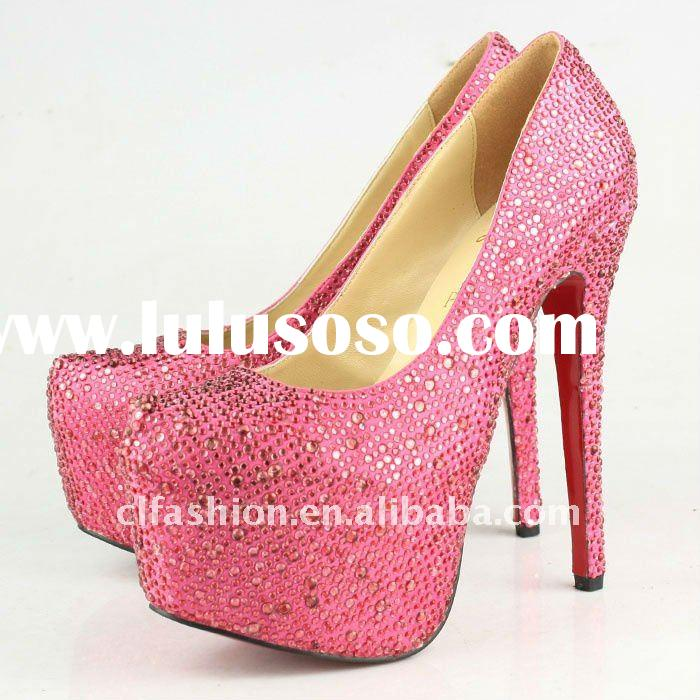 Top brand designer women 2011 high heel shoes