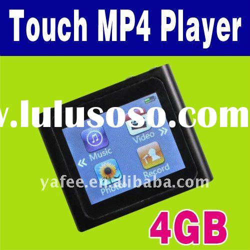 Touch LCD 4GB 4 GB 6th MP3 MP4 Player + FM Radio