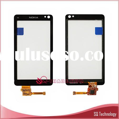Touch Screen for Nokia N8 Digitizer black colour