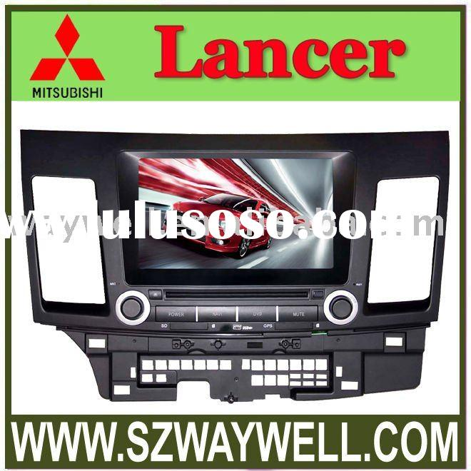 Touch screen Car DVD GPS player For Mitsubishi Lancer (WD6075)