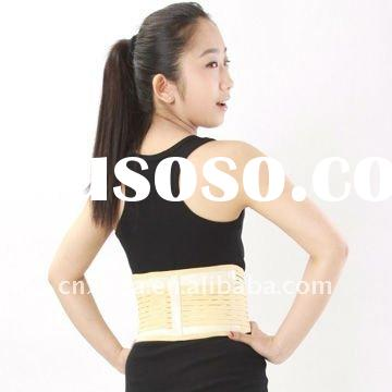 Tourmaline magnet back support belt--relieve back pain and stiffness