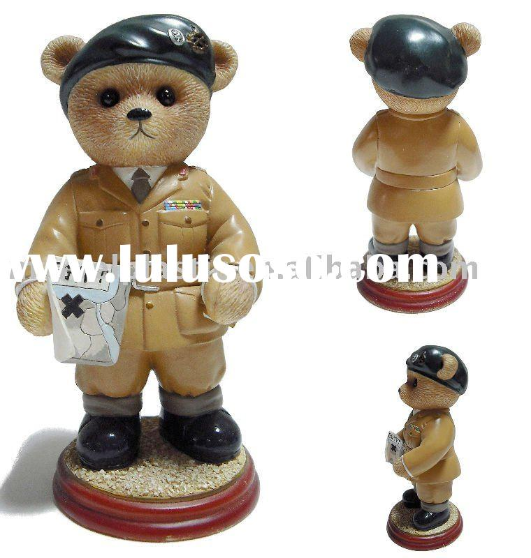 Toy soldier plastic bear (accept OEM)