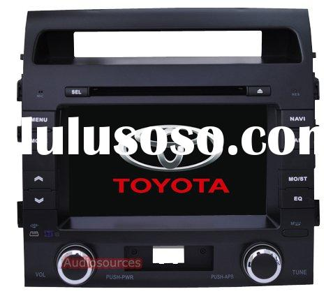 Toyota Land cruiser car dvd player with gps navigation system