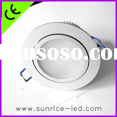 Triac dimmable 5W LED ceiling light