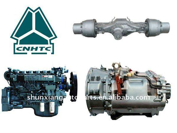 Truck spare parts SINOTRUK Engine Chassis and spare parts