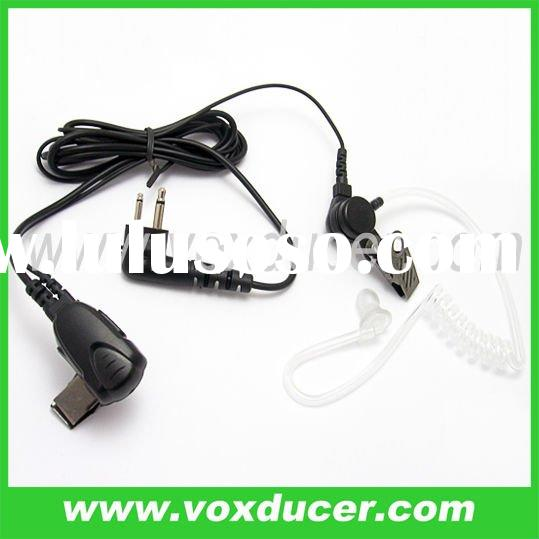 Two way radio accessory Acoustic tube push to talk earpiece for Motorola 2 pin UHF VHF radios SP10 S
