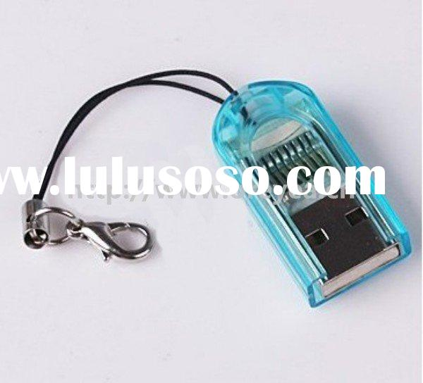 USB 2.0 for MicroSD T-Flash TF Memory Card Reader