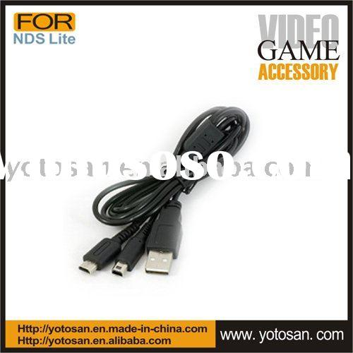 USB 2 in 1 Charge Cable for NDSi NDS Lite
