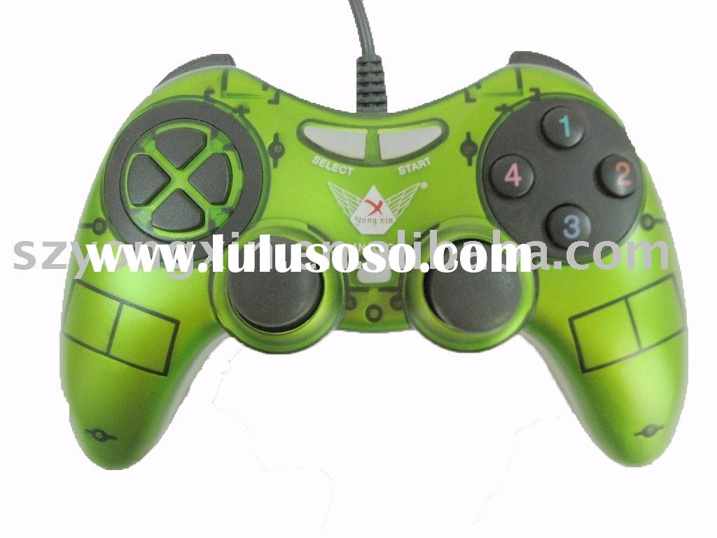 USB Dual Shock Joystick PC Game Controller