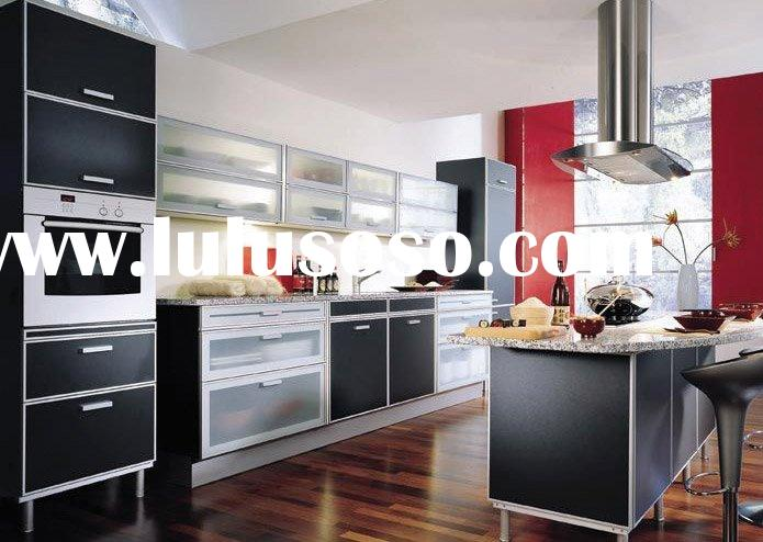 UV Lacquer Kitchen Cabinets (Covered with melamine)