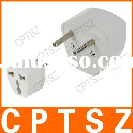 Universal EU Travel AC Power Adapter Plug (250V)