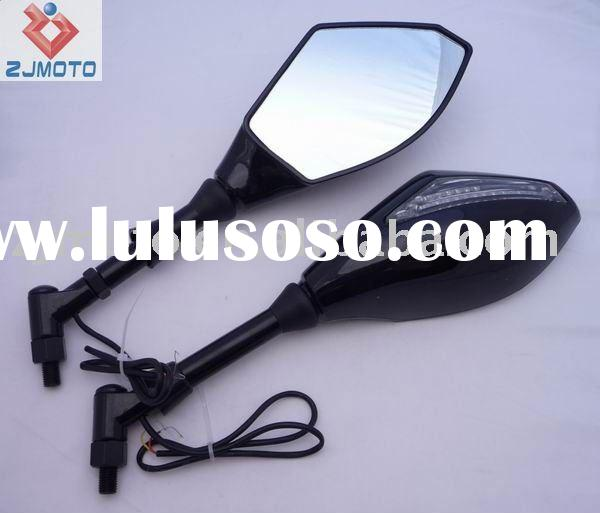 Universal Motorcycle mirrors Motorcycle Integrated Turn Signals LED Side Mirrors LED Turn Signal Mir