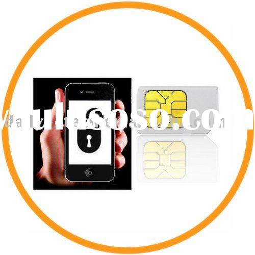 Universal SIM Activation Card For iPhone 4G, For iPhone 3G/3GS