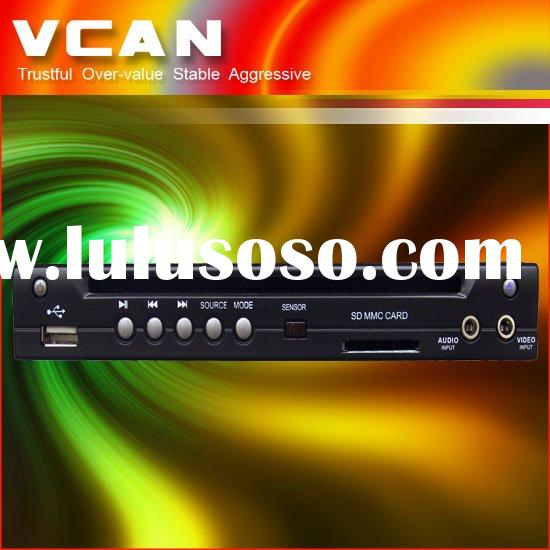 Universal half Din DVD Player with USB Port and SD Card Slot -DVD-600