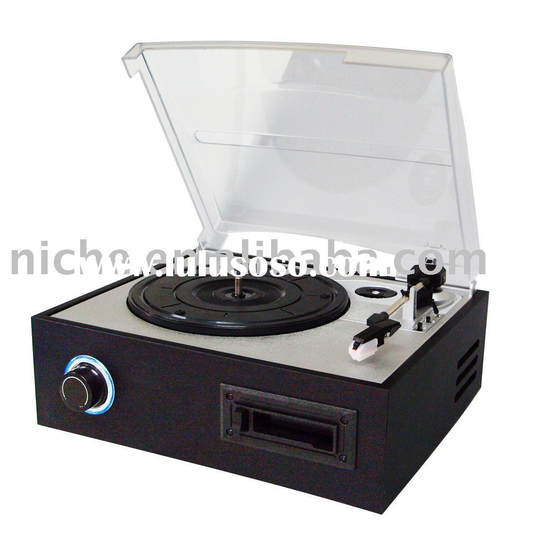 Usb Turntable And Cassette Player / Recorder