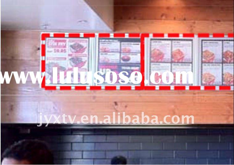 Used in restaurant! LCD Advertising player, Advertising display,digital menu board