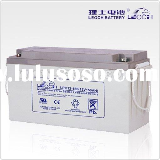 VRLA Deep Cycle Battery For Solar Energy System With 12V Voltage And 150AH Capacity