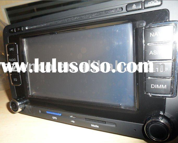 VW golf 5 radio player system with car dvd,gps navigation,rds audio system