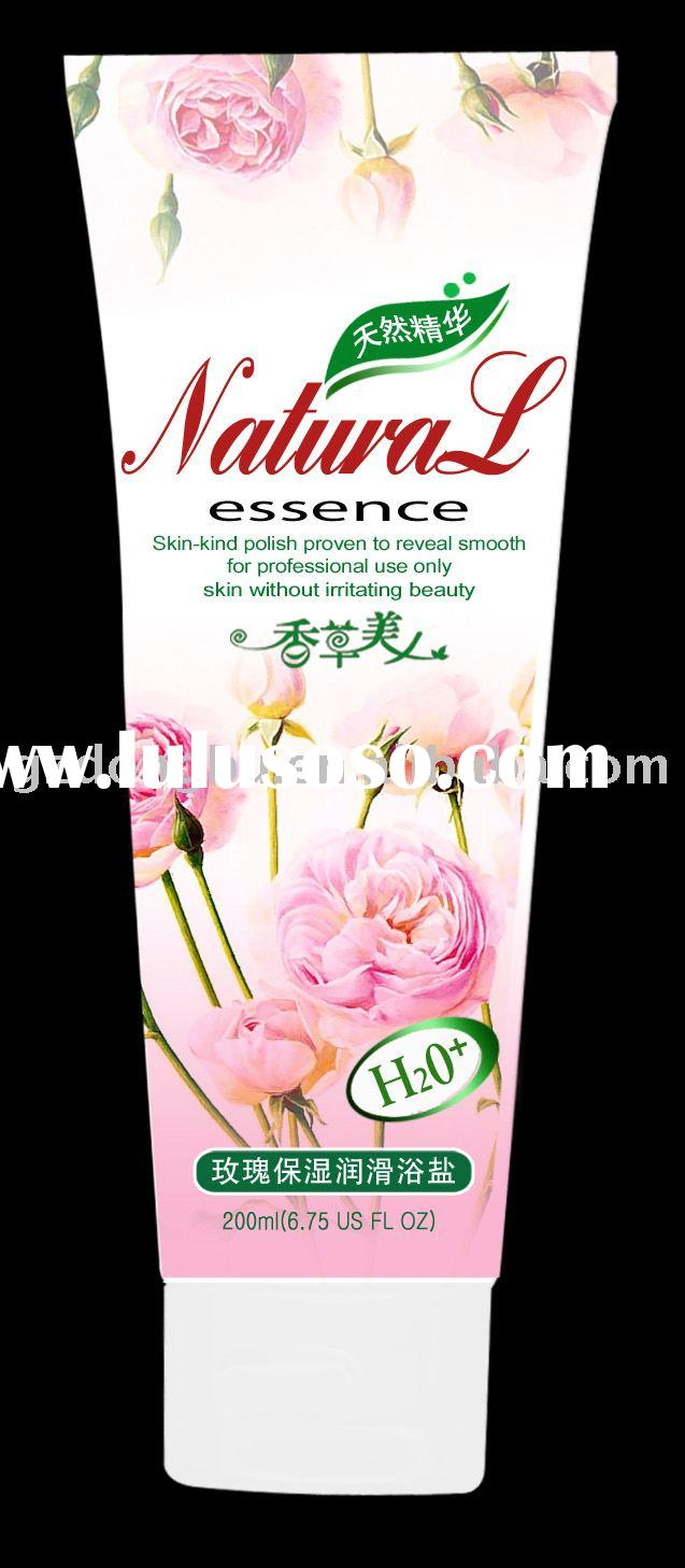 Vanilla Beauty Rose Creamy Bath Salt(enriched in vegetal extracts,health benefits of natural marine