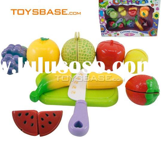 Vegetables and fruits toys,cutting food ZZC93323