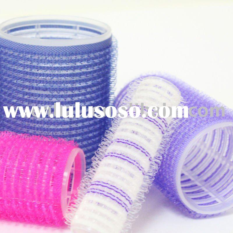 how to use velcro rollers on short hair