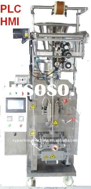 Vertical food packing machine for coffee, sugar, snack, honey, oil