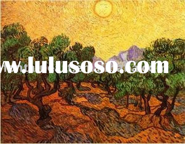 Vincent Van Gogh Oil Painting reproduction,Olive Trees