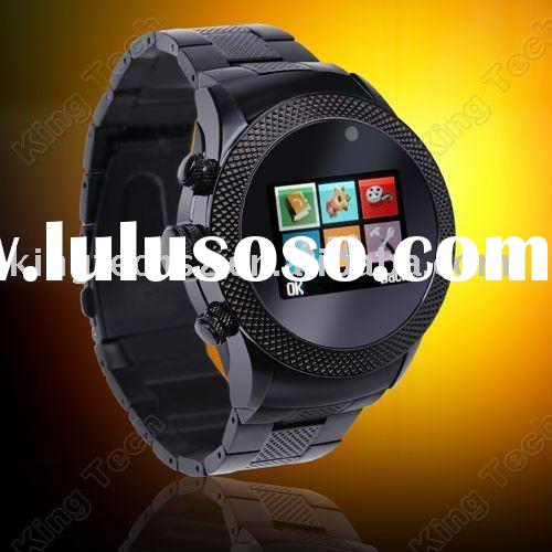 W866 2011 Best Seller Touch Screen FM Mp4 Camera Stainless Steel 2011 Watch Phone
