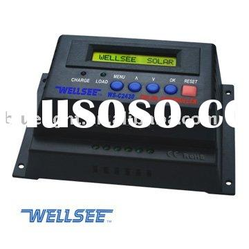 WELLSEE WS-C2430 20A/25A/30A 12/24V Solar controller charger