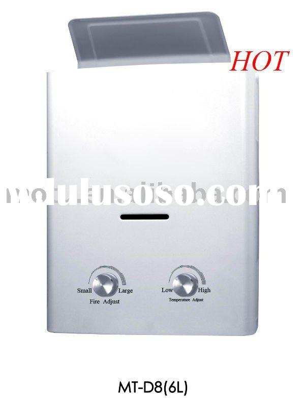 Wall mounted gas water heater MT-D8(6L)