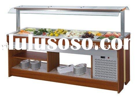Wall-side Salad Bar/restaurant equipment/hotel equipment /kitchen equipment