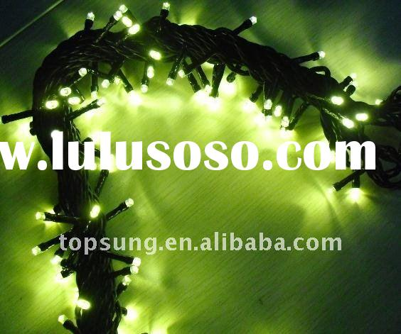 Warm White led christmas lights clearance with 100pcs LEDs per piece