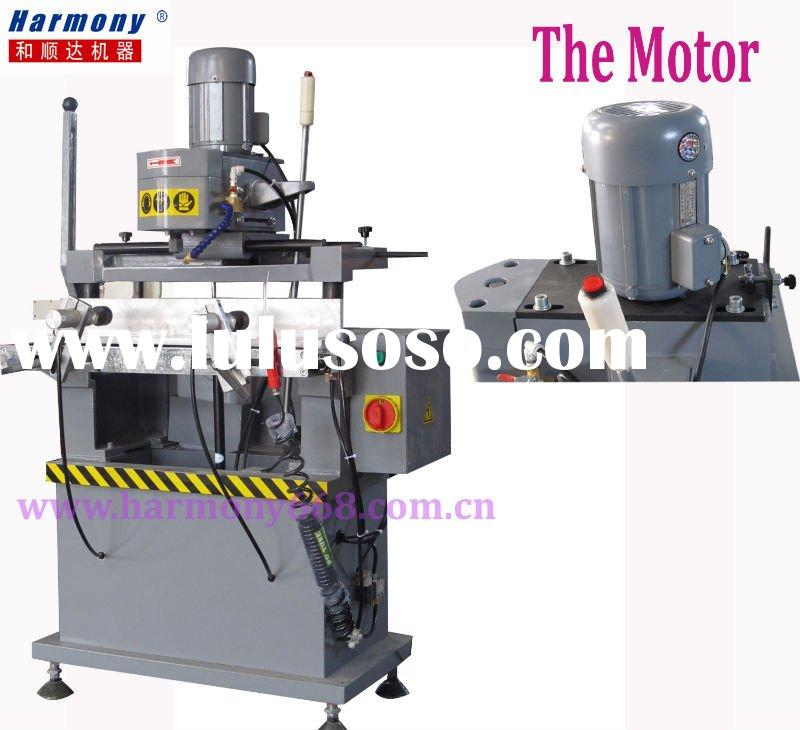 Water hole drilling for Aluminum and Upvc window and door making machine