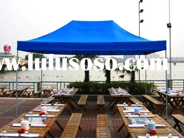Waterproof Tarpaulin Folded Tents / Party Stretch Marquee