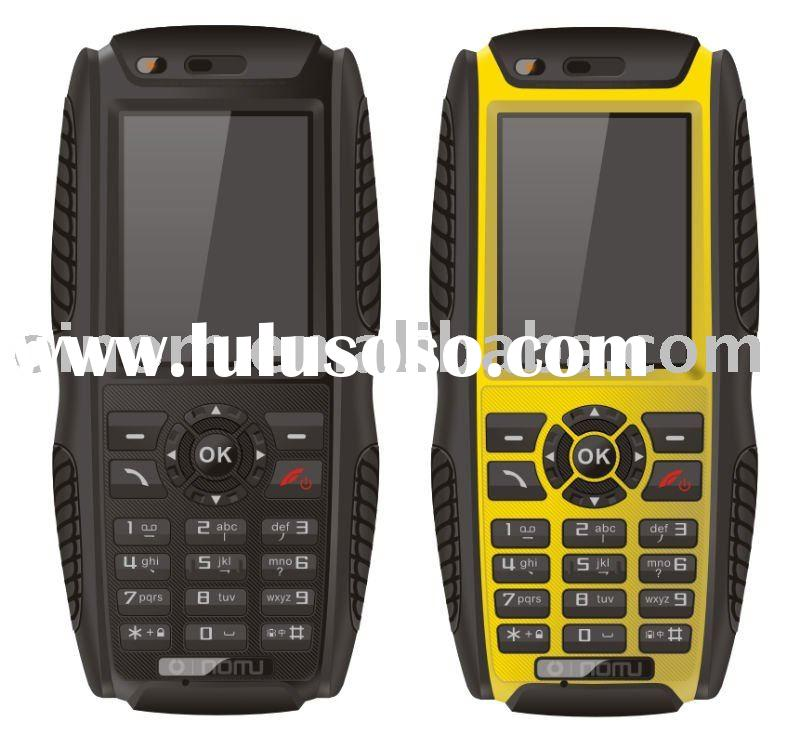 Waterproof Touch Screen Quad-Band Mobile Phone