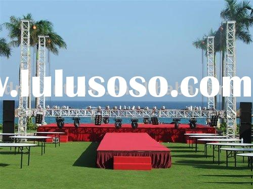 4ft by 4 ft hall party wedding stage design decoration creative