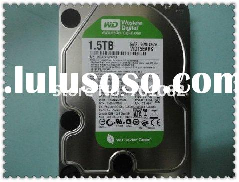Western Digital 1.5 TB Caviar Green SATA Intellipower 64 MB Cache Bulk Desktop Hard Drive WD15EARS