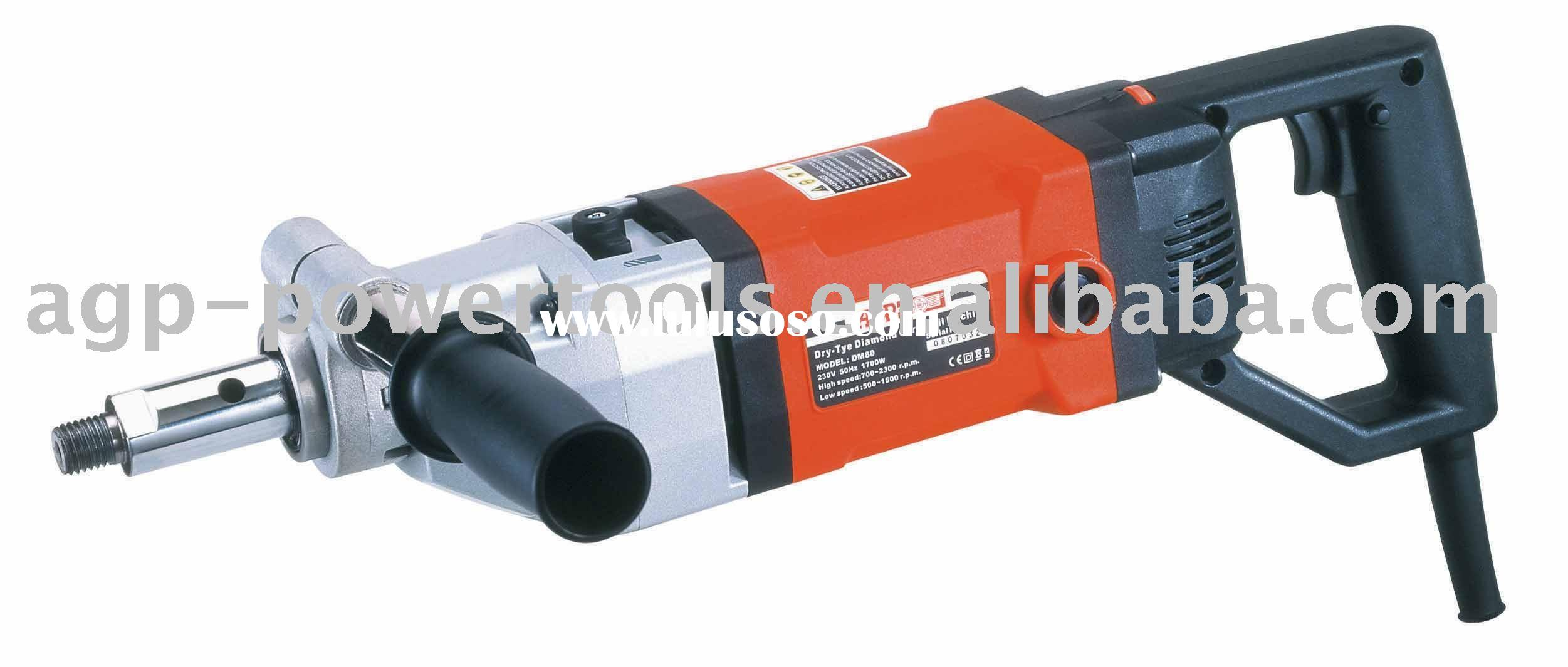 Wet+Dry Diamond Core Drilling Machines