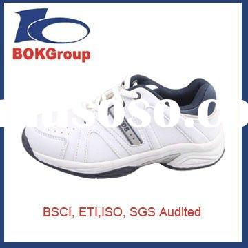 White Low Cut Boys Sneaker Made In China