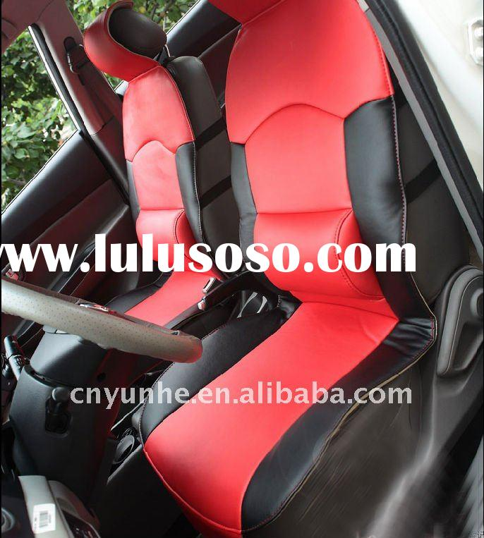 Wholesale Luxury car seat cover lether car seat covers set