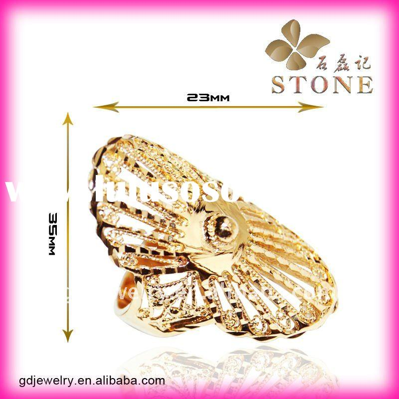 Wholesale jewelry 18k gold rings designs
