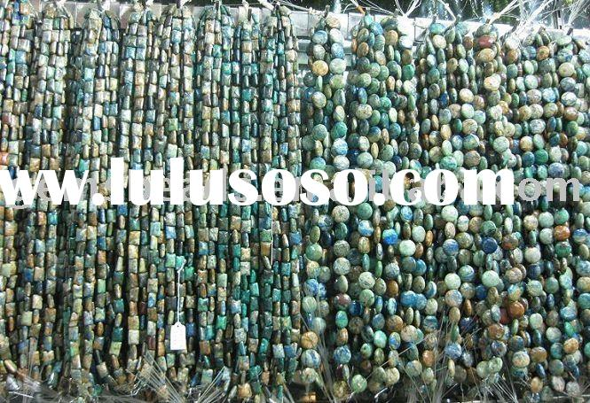Wholesale loose strand gemstones beads for necklace