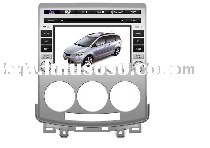 Wholesale special Mazda 5 car dvd player with 7 inch high resolution touch screen, built-in GPS, bul