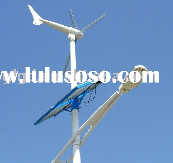 Wind solar generator components for renewable energy power