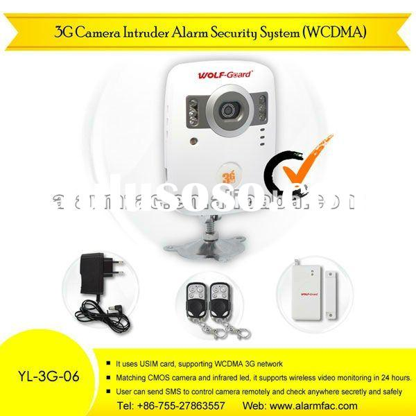 Wireless 3G camera intruder alarm security system alarm security system